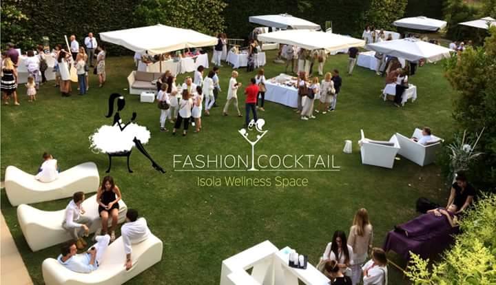 """""""Fashion cocktail"""" un white party in un'oasi di benessere."""