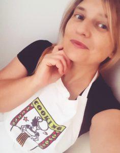 Stefania Bozzato in cucina con la sbo